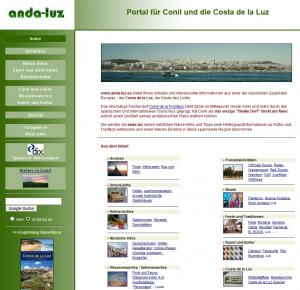 Portal für Conil und die Costa de la Luz