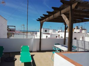 Ferienapartment mit privater Dachterrasse in Conil
