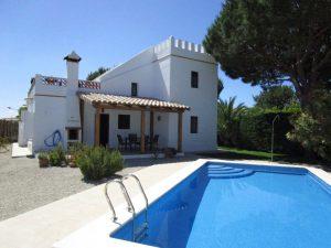 Landhaus in Conil für bis zu 8 Personen mit Pool