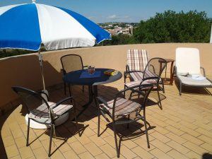 Villa in Conil - Terrasse mit Panoramblick