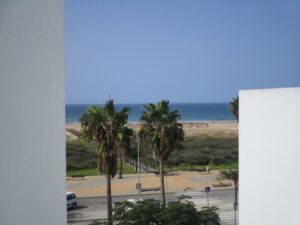 Apartment in Conil mit Meerblick